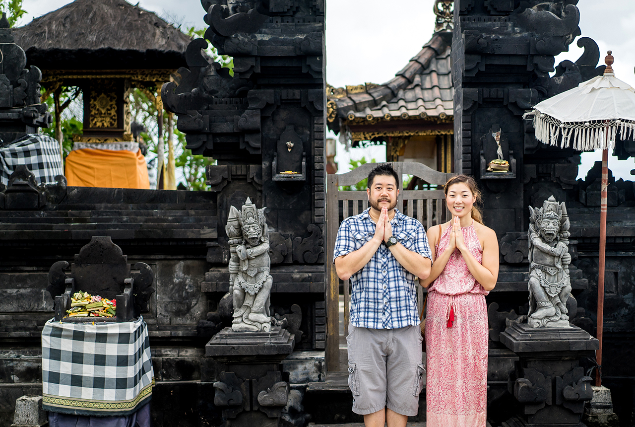 Photo Credit: Bayu & Vony in Bali for Flytographer